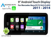 Mercedes Benz R172 Slk-class 2011 - 2014_ 9 Touch Display Carplay Android Auto