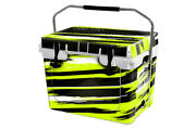 Usatuff Custom Cooler Wrap 'fits New Mold' Rtic 20qt Full Rzr Sxs Lime Squeeze