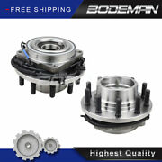 2pc Front Wheel Hub Bearing For 2011-2016 Ford F-450 F-550 Super Duty 4wd 10-lug