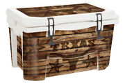 Usatuff Wrap Decal Full Kit Fits Grizzly 75 Cooler - Texas Longhorn Wd