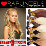 Russian Micro Ring I Tip Pre Bonded Double Drawn 1g Or 0.5g Human Remy Hair 16