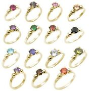 Skull Rings 4 Claw 1ct Various Colours Diamond Unique 9ct Yellow Gold Engagement