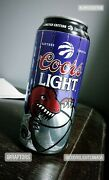 Raptors Limited Edition Championship Throwback Coors Light Cans With Signature