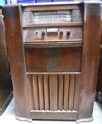 Vintage Wooden Case Radios Lot Of 3 For Parts And Repair Local Pick Up Only