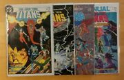 The New Teen Titans Vol.2 - Issues 1, 2, 3, Annual 1 - Dc - 1984