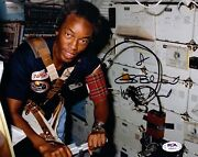 Guion Bluford Signed Autographed 8x10 Photo Nasa,sts, Shuttle Psa/dna Ah64514