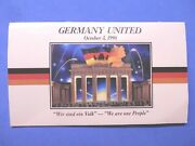 Germany Unification Berlin Wall Marshall Islands 1990 5 Coin Mint Bunc Sealed
