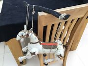 Vintage Antique Puppet Horse Unique Maybe Punch And Judy Very Old