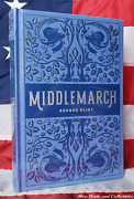 New Sealed Middlemarch By George Eliot Bonded Leather Collectible Hardcover Rare