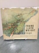 Frank Lloyd Wright Book Drawings For A Living Architecture, 1959 Very Good