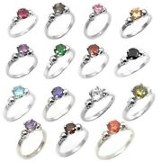 Skull Rings 4 Claw 1ct Various Colours Diamond Unique 9ct White Gold Engagement