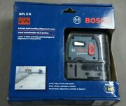 Bosch Gpl 5 R Self Leveling 5-point Alignment Laser New Sealed Plumbsquare New