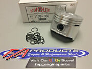 For 1966-1970 Ford Fe 428 7.0l Engines Dished Piston Set Of 8 Silvolite 1138.030