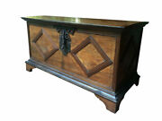 Gorgeous Early 18th Century Brazilian Chest Trunk