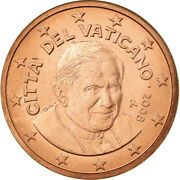 [755680] Vatican City 5 Euro Cent 2008 Ms63 Copper Plated Steel Km377