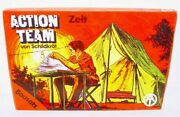 Action Man Team Military Officers Tent 12 Figure Doll Authentic Playset Misb`70