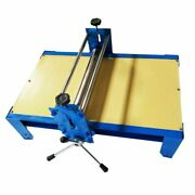 Adjustable Ceramic Art Clay Plate Machine Slab Roller For Clay Wood Engraving