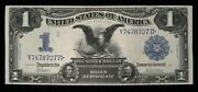 1899 1 Large Silver Certificate Fr 230 Almost Extra Fine  Great Eye Appeal