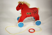 Brio Vintage Horse On Wheels Pull Toy Sweden 60and039s Iconic Model L002319