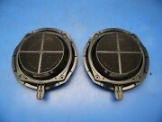 02-08 Audi A4 S4 Oem Front Bose Door Speakers And Pods Stock Factory X2