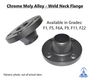 Chrome Moly Alloy A182 Grade F6a Weld Neck Flange 6 900 S/40 Raised Face B16.5
