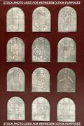 Marc Chagall The Jerusalem Windows In Silver - Extremely Rare - Free U.s. Ship