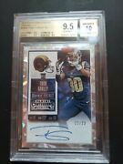 2015 Panini Contenders Todd Gurley Cracked Ice Rc Auto D /23 Bgs 9.5/10 Gem