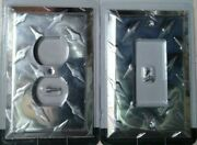 Polished Chrome Garage Diamond Switchplate Wall Plate Cover Outlet Toggle Rocker