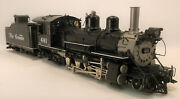 On3 Brass Psc Denver And Rio Grande Western K27 2-8-2 461 Factory Painted- As Is