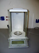 9634 Mettler Toledo Ag204 Balance / Scale 210g Max D=0.1mg 0.0000 Place 3 Round