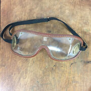 Vintage Aviation Car Automobile Motorcycle Racing Glasses Goggles Safety Drive