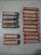 Pennies Nickels Quarters Preformed Paper Coin Wrappers Roll Coins