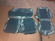 65 66 67 Mustang Fastback Sportsroof Upholstery Teal 1965 1966 1967