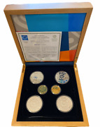 2004 Athens Olympics 6 Gold-silver Proof Coin Commemorative Set Rare Collection