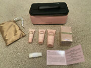 Rare New Singapore Airlines Lalique First Class Pink Women's Amenity Kit