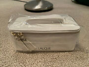 New Sealed Singapore Airlines Lalique First Class White Women's Amenity Kit