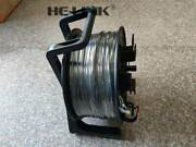 200m St-st Outdoor Armored Om3 Mm 6 Strands With Fiber Tactical Cable Reel