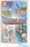 The Taikan Game Sports Pack Tennis Bowling Golf Etc Nintendo Switch Game Soft