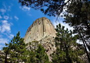 162360 Devils Tower National Monument Wyoming Decor Wall Print Poster