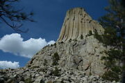 162353 Devils Tower National Monument Wyoming Decor Wall Print Poster