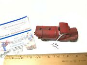 Antique Cast Iron 5 Arcade A C Williams Toy Cast Iron Tanker Truck 1800and039s