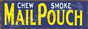 Mail Pouch Metal Sign 6 X 18