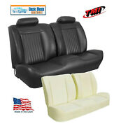 1972 Chevelle, El Camino Sport Front Seat Upholstery + Foam, Made By Tmi In Usa