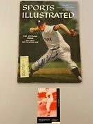 New York Yankees Bob Turley Signed Sports Illustrated 1959 Free Shipping