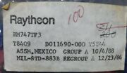 Raytheon Rm747tf3 Lot Of 90+ Never Installed From Surplus Free Shipping