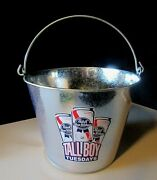 New 1 Pabst Blue Ribbon Pbr Beer Party Ice Bucket Lot Galvanized Metal Cooler