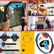 Ring Fit Adventure Nintendo Switch Exercise Ring-con Grips Game Leg Strap