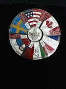 Pin Olympic Lillehammer 1994 Sponsor Coca Cola Countries Puzzle Vhtf