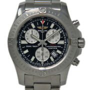 Breitling Colt Chronograph A73388 Stainless Steel Black Box/paper/2yrwty 813-3