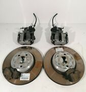 Bmw 7 Series G11 G12 Oem Rear Brakes Left Right Discs Set With Calipers Caliper